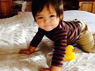 Tubal reversal baby of Hongmei Crisp 1
