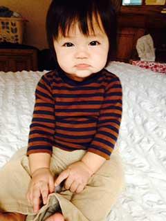 Tubal reversal baby of Hongmei Crisp 2