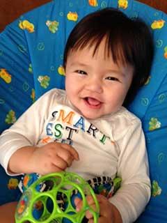 Tubal reversal baby of Hongmei Crisp 3