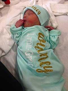 Tubal Reversal Baby of Amy Dover 1