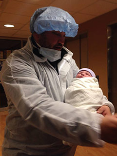 Tubal Reversal baby of Jessica Rhodes 4