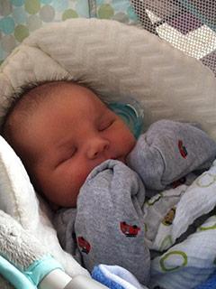 Tubal Reversal baby of Jessica Rhodes 5