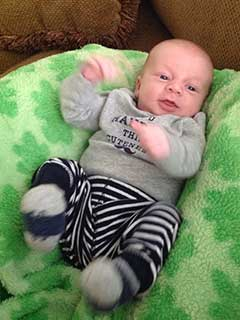 Jennifer Wardrip's Tubal Reversal Baby 3