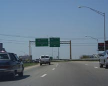 North-East approach to Louisville 3